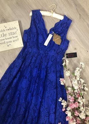 Очень шикарное кружевное вечернее платье, вечернее платье с вы...
