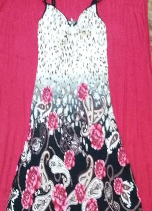 Платье летнее в хорошем состоянии, размер s