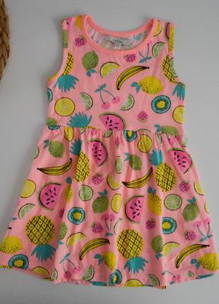 Платье на 3-4г.