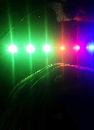 Лампа аквариумная трёх цветная