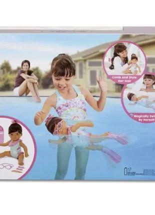 Учимся плавать Интерактивная кукла Little Baby Born (кукла для ку
