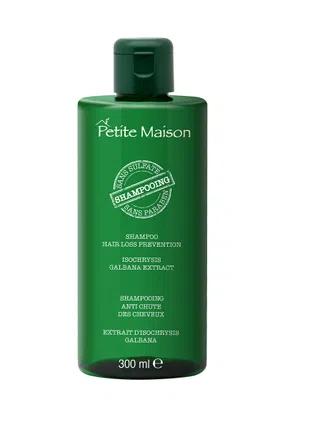 Безсульфатный шампунь против выпадения волос, 300 мл
