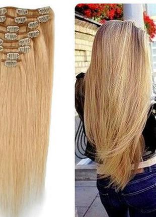 Наборы прядей трессы волосы на заколках