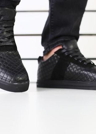 Натуральные мужские туфли из кожи