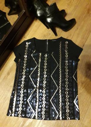 Блуза , кофта esmara c пайетками