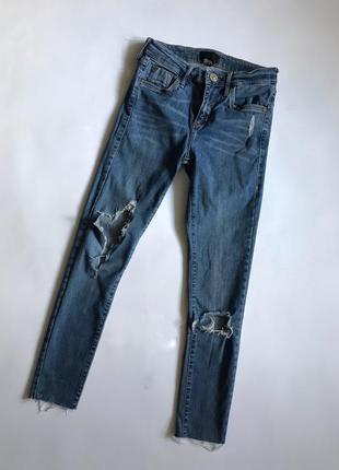 Рванные джинсы river island