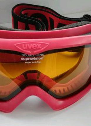 """Маска горнолыжная """"Uvex"""" Double lens Supravision Super anti-fog"""