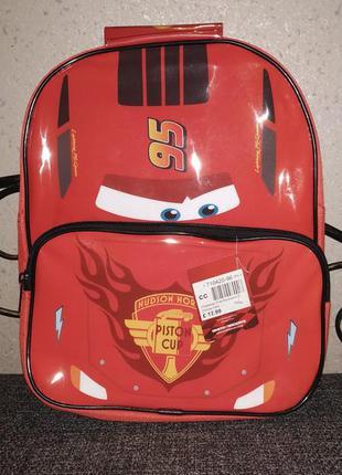 Детский рюкзак, рюкзачок маквин тачки