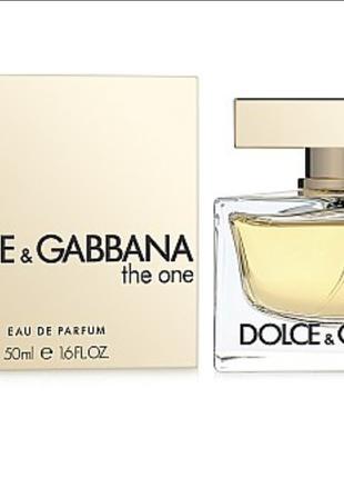 Dolce&Gabbana The One 30ml edp(Парфюмированная вода) ОРИГИНАЛ