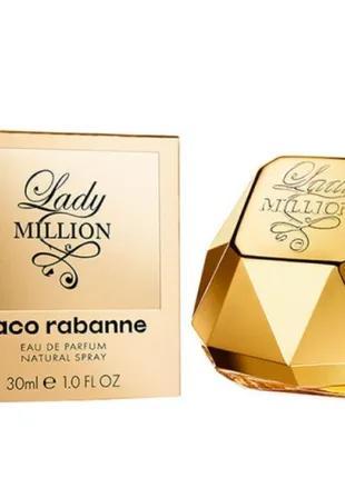 Paco Rabanne Lady Million 30ml edp(Парфюмированная вода) ОРИГИНАЛ