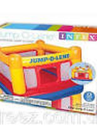 Детский надувной батут для дома Intex 48260 (174*174*112 см)