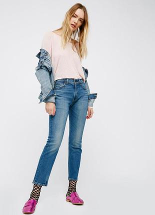 Джинсы женские levi's 505™c cropped jeans!