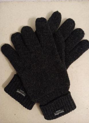 Перчатки мужские шерсть