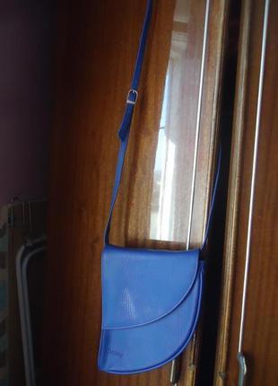 Яркая сумка кроссбоди необычной формы sunny