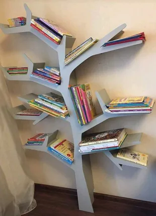 Полка для игрушек, полка-дерево, Tree Bookshelf