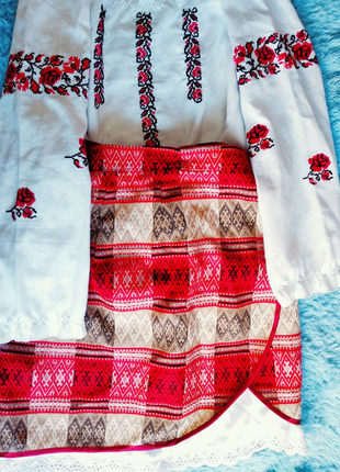 Украинский детский наряд украинки для девочки