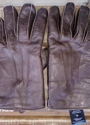 Кожаные перчатки next