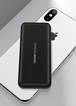 Портативное зарядное устройство Usams PB33 US-CD96 Single USB 500