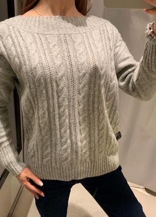 Мягкий серый свитер reserved есть размеры