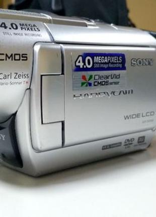 Видеокамера SONY DCR - DVD408 на mini-cd/memory stick + 3 подарка