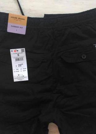 Чёрные лёгкие брюки house, размер s, m, xl