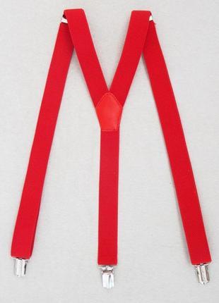 Женские красные классические подтяжки (арт. 467)