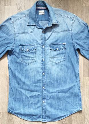 Мужская джинсовая рубашка Jack&Jones