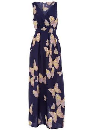 Распродажа! dorothy perkins красивое макси платье с принтом ба...