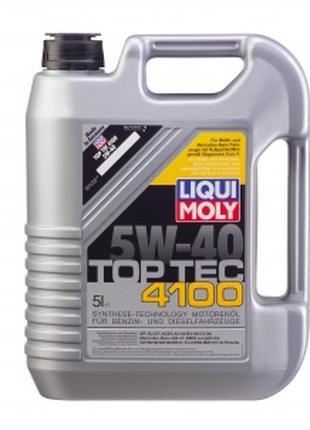 5W-40 Liqui Moly Top Tec 4100  канистра 5л (Германия).