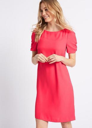 Распродажа! marks&spencer платье прямого кроя с красивым рукав...
