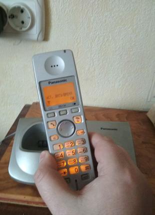 Цифровой беспроводной радиотелефон Panasonic KX-TG7107. АОН,полиф