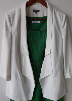 Тренд 2020/базовый белый блейзер/пиджак