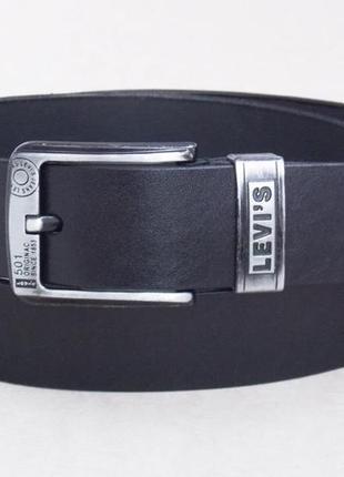 Ремень мужской кожаный levis джинсовый