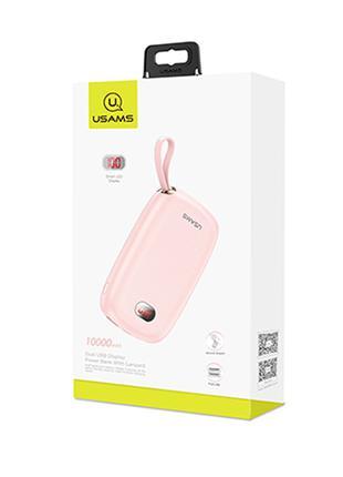 Портативное зарядное устройство Usams US-CD78 Dual USB Display Wi
