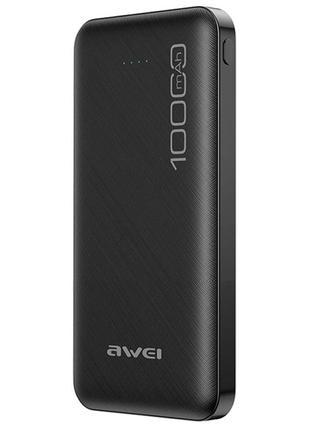 Портативное зарядное устройство AWEI P28K 10000mAh