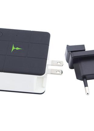 Сетевое и портативное зарядное устройство T-phox (2в1 сам себя за
