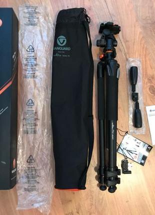 Новый штатив 185см Для фото и видео съемки / VANGUARD ALTA PRO...