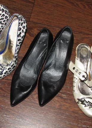 Пакет обуви, пакет туфель. 3 пары.