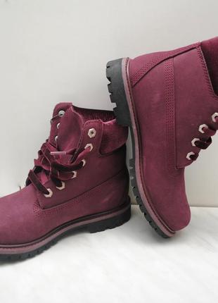 Женские ботинки timberland, timberland velvet, premium boots, ...