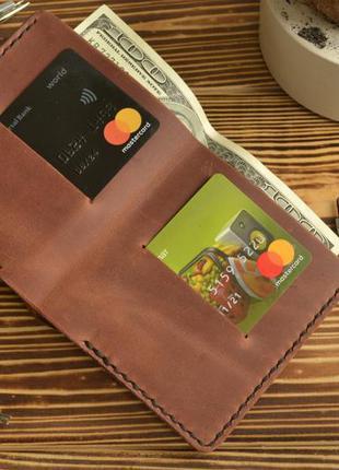 Гаманець компакт | кожаный кошелек