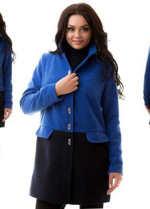 Роскошное кашемировое пальто на подкладке