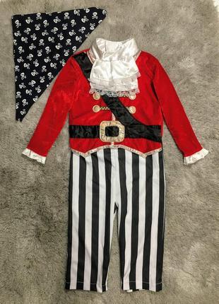 Карнавальный костюм пират, разбойник. 1-1,5 года