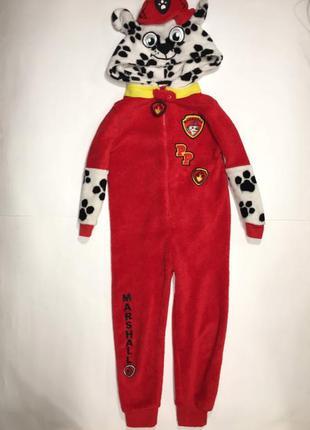 Карнавальный костюм, слип махровый щенячий патруль. 5-6 лет