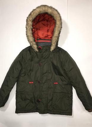 Демисезонная куртка 2в1 мальчику, tu. 2-3 года