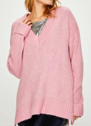 Нежный шерстяной свитер с альпакой от answer рр -м