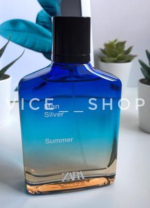 Zara silver summer  духи парфюмерия туалетная вода