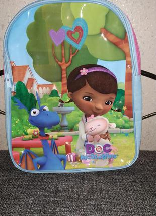 Детский рюкзачок (рюкзак) доктор плюшева