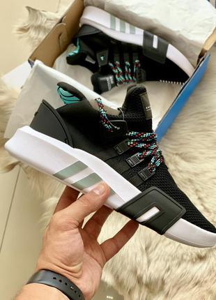 Adidas eqt basketball adv black шикарные мужские кроссовки адидас
