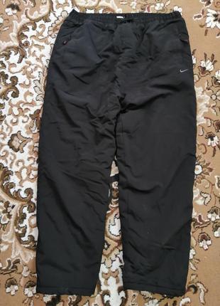 Спортивные штаны тёплые зимние мужские nike