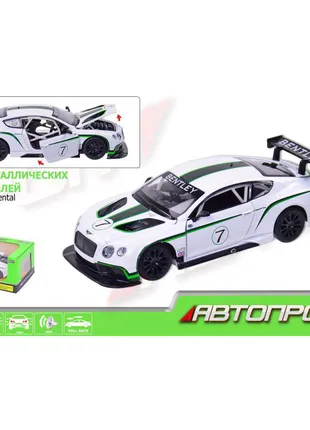 Машина металл 68266A АВТОПРОМ 1x24 Bentley Continental GT3 Concep